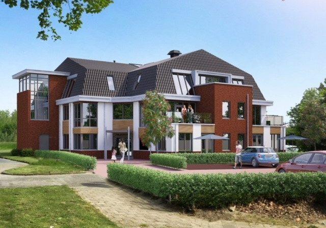 Transformatie kantoorpand tot 10 luxe koopappartementen Hof van Houten