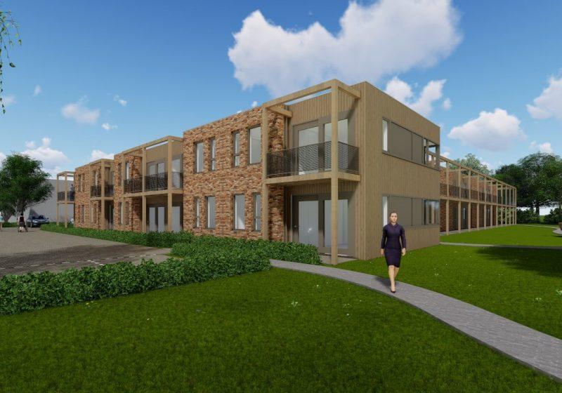 Nieuwbouw 33 appartementen Vogelkersweg te Arnhem
