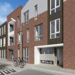 artist impression, Rappardstraat, Arnhem, Nieuwbouw 28 appartementen door PHB de Combi B.V.