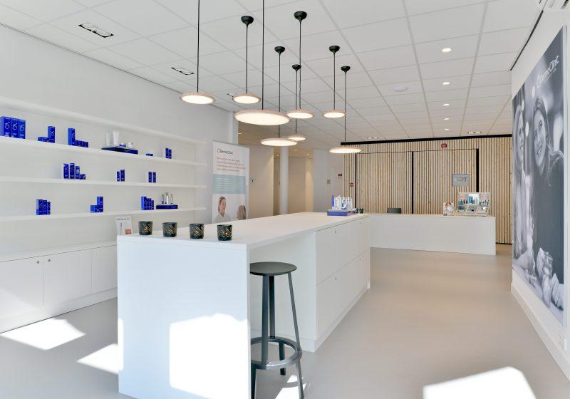 Verbouwing nieuwe locatie DermaClinic in Den Haag