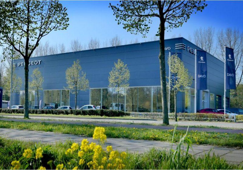 Nieuwbouw Peugeot DAVO Den Haag