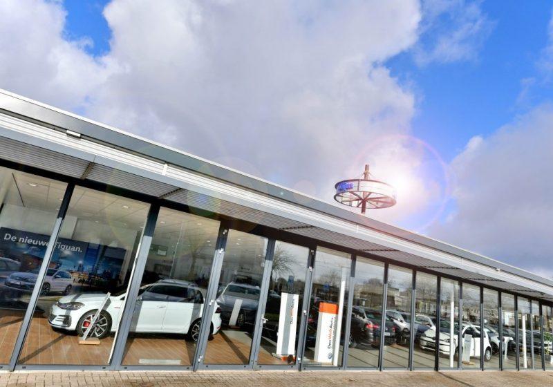 Verbouwing Volkswagen showroom Zijm te Arnhem
