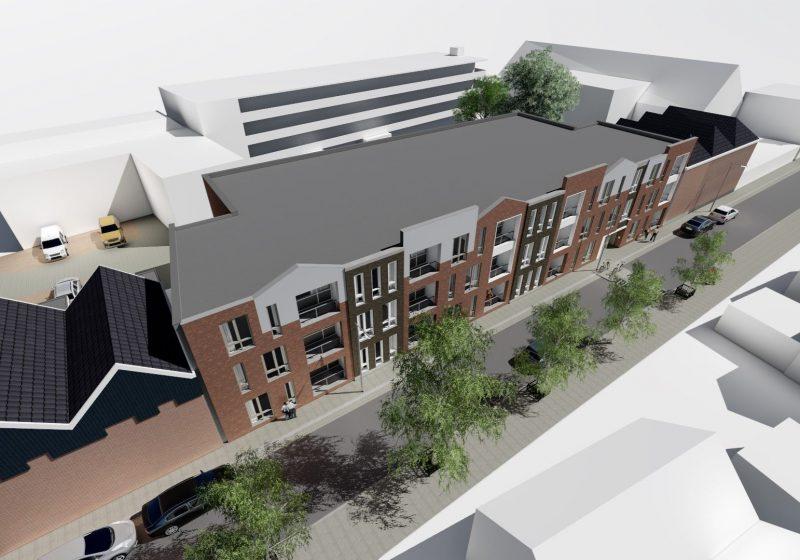 Nieuwbouw 28 appartementen aan de Rappardstraat 28-32