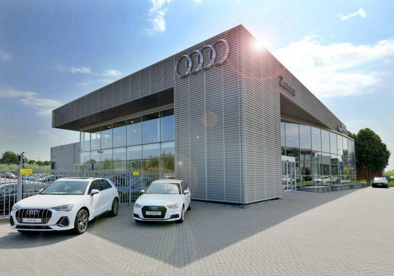 Restyling en uitbouw Audi Zenna te Velp