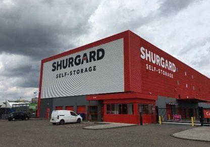 Restyling vestigingen Shurgard Nederland