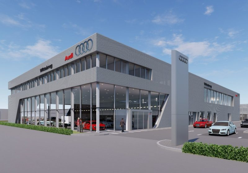 Audi Showroom in Den Haag