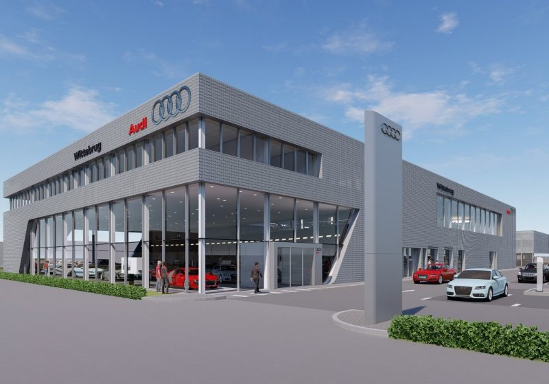 Audi showroom Den Haag mag PHB realiseren!