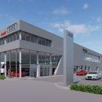 Gestart project Audi Showroom in Den Haag