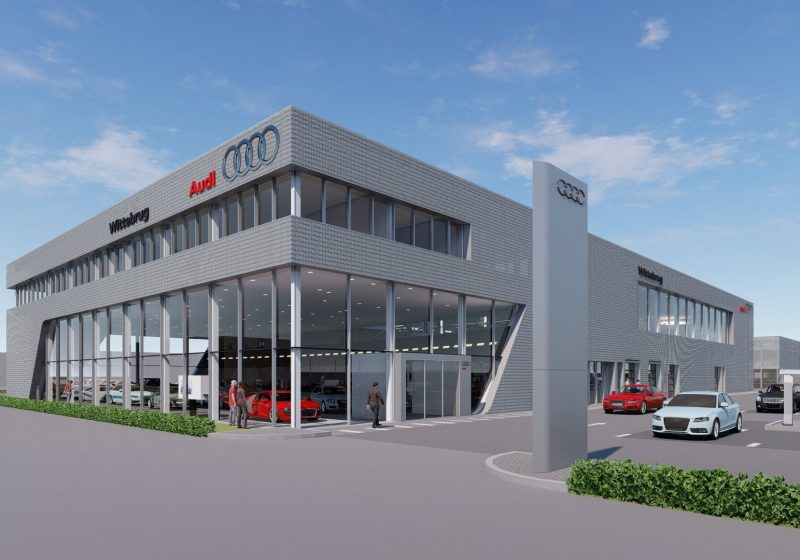 Gestart project Audi Showroom in Den Haag