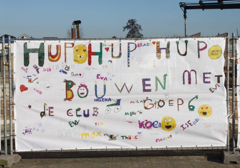 Feestelijke start bouw MFC De Hoendrik te Herveld