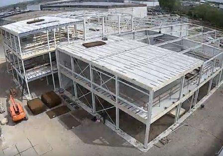 Vorderingen bouw GKS Elst.