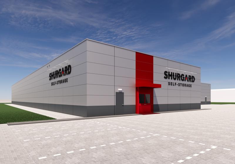 Nieuwbouw Shurgard vestiging Zoetermeer