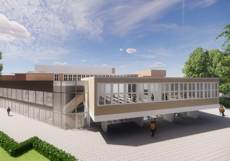 Uitbreiding Christelijk Gymnasium te Utrecht
