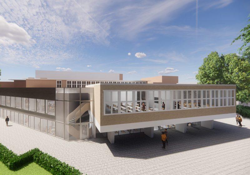 Uitbreiding Christelijk Gymnasium Utrecht
