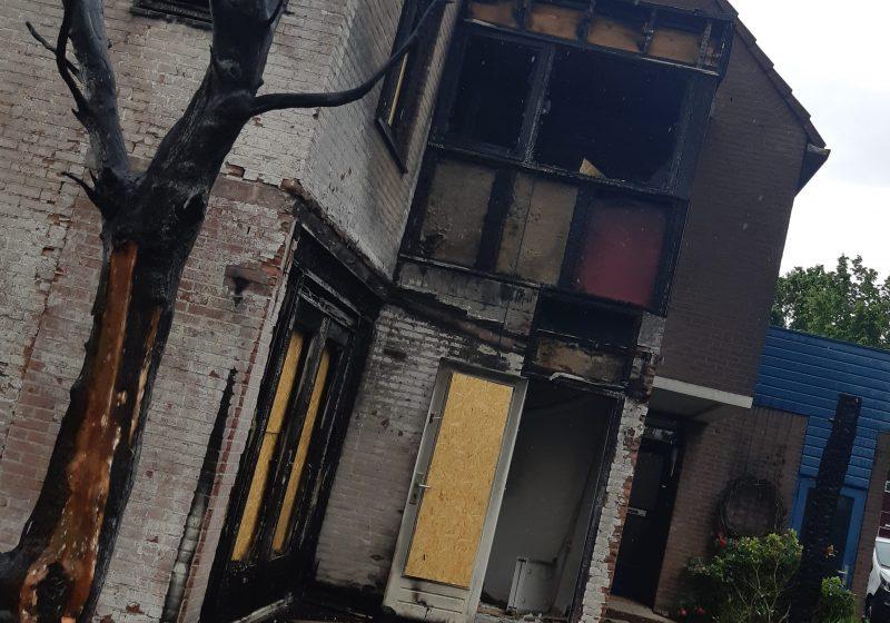 Herstel brandschade aan woonhuis Arnhem