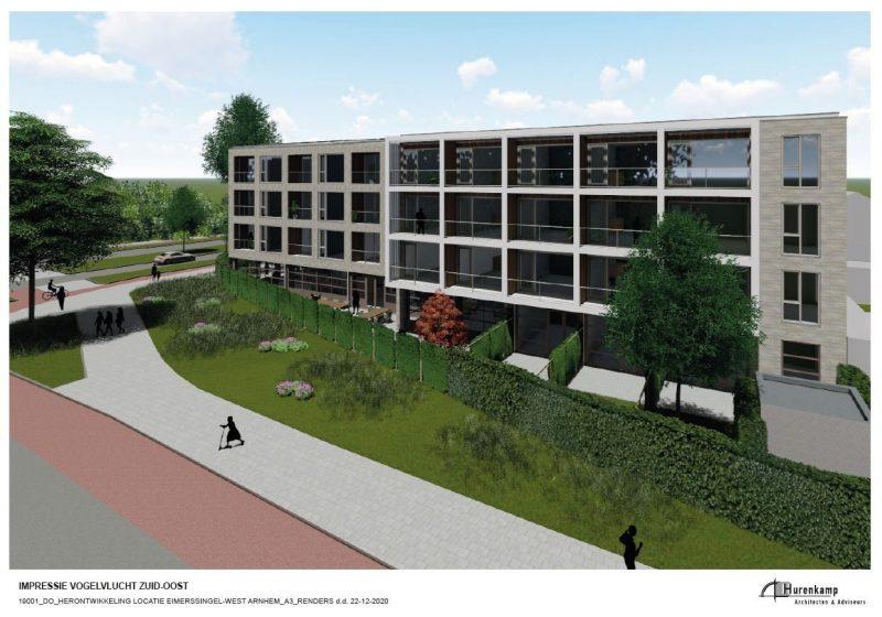 Overeenstemming Nieuwbouw Zorgcomplex Eimerssingel-west Arnhem