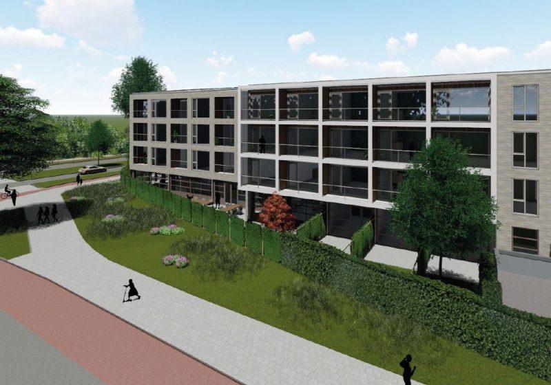 Nieuwbouw Zorgcomplex Eimerssingel-west te Arnhem